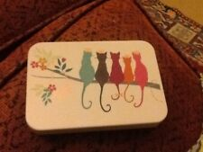 Sarah Miller small decorative Tin, Cats