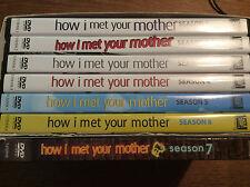 How I Met Your Mother - Season Staffel 1 + 2 + 3 + 4 + 5 + 6 + 7 [21 DVD]