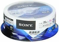 New 25 Sony Blank Blu ray Discs 25GB 6x BD-R 25BNR1DCPP6 Spindle Hard