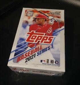 Topps MLB Baseball Series 1 2021 Hanger Box
