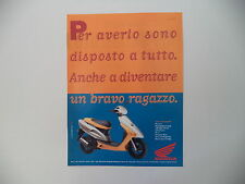 advertising Pubblicità 1995 HONDA SFX 50 SPORT