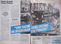 PUBLICITÉ 1982 EUROPE 1 C'EST NATUREL AVEC ANDRÉ ARNAUD LE MIDI A 13 HEURES
