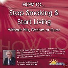 HOW TO STOP SMOKING & START LIVING - ALBERT SMITH - CD
