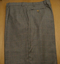 New INCOTEX Mabitex Cashmere Camel Houndstooth Men's Dress Pants NWT 40