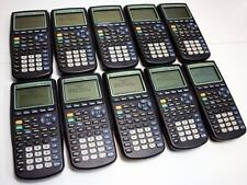 LOT OF 10 Texas Instruments TI-83 Plus Graphing Calculators (10 Kit)