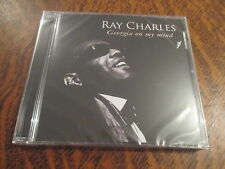 cd album ray charles georgia on my mind