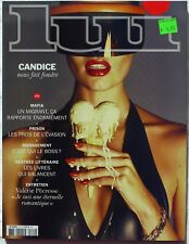 Lui Magazine # 20- Similar to Treats & Playboy. Candice Swanepoel cover!
