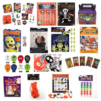 Halloween Party Kids Games Activities Photo Props Bingo Finger Puppets Tattoos🎃