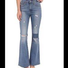 Levi's High Rise Flare Jeans Lighthouse Blues  NWT Style 227900007 SZ 25X32 NWT