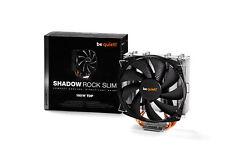 Be Quiet! BK010 Shadow Rock Slim CPU Cooler - Intel & AMD, Silent Wings Fan