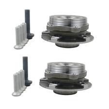 Pair Front Wheel Hub + Bearing +Bolts Kit Audi A4 A5 A6 A8 Q5 2007-18 4H0498625