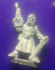rogue trader imperial army guard 40k citadel games workshop commisar chaplin #C