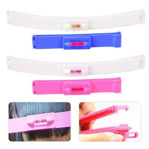 Fringe Hair Cutting Guide Ruler fit for Bang Layer Styling Scissor Hair Dressing