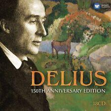 BEECHAM/BARBIROLLI/+- DELIUS:150TH ANNIVERSARY EDITION 18 CD KLASSIK NEU