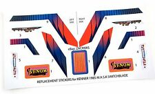 MASK stickers for KENNER M.A.S.K SWITCHBLADE Stickers Personalized with Extra's