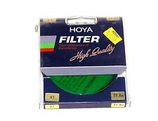 72mm Hoya G X1 Green Lens filter X 1 Japan Coated New Round Color Conversion 72