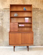 Vintage 60er Teak Sekretär Kommode Highboard Standregal 60s Mid-Century Cabinet