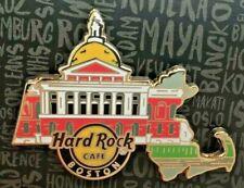 2017 Hard Rock Boston État Capitol Façade État Contour de Massachusetts Broche