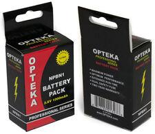 Batteries Sony pour appareil photo et caméscope sans chargeur