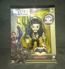 "NEW JADA M15 Batman v Superman: Dawn of Justice Aquaman 4"" Die-Cast Metal Figure"