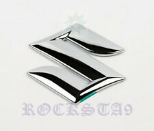 "SUZUKI 3D 5"" CHROME FRONT GRILL GRILLE EMBLEM LOGO BADGE SIGN DECAL SX4 S-CROSS"