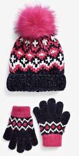 Next Girls Hat & Gloves Set