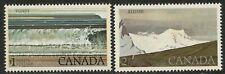 CANADA Sc#726-727 1979 Fundy & Kluane National Parks High Values OG Mint NH