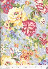 Veranda Yellow Large Flower - NEW Quilt Fabric - Free Shipping - 1 Yard