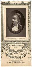 Lemercier, Paris, actrice, Comédie-Française, Suzanne Reichenberg (1853-1924) Vi