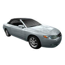 Toyota Solara 1999-03 Convertible Soft Top w/Glass Window, Stayfast Cloth, Black