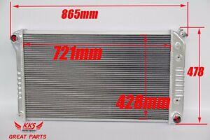 "KKS 3 ROWS ALUMINUM RADIATOR 1973-80 GMC/CHEVY C/K Ser 28"" Wide Core"