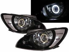 Getz/Click 05-11 FACELIFT Hatchback COB Projector Headlight BK for HYUNDAI RHD