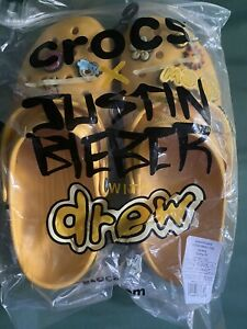 Justin Bieber Drew House x Crocs Size Men's 12 |IN HAND (free shipping)
