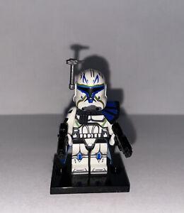 Custom Captain Rex For Lego Star Wars Commander Clone Trooper RARE - FREE SHIP