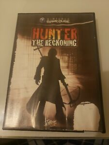 Hunter: The Reckoning Gamecube, artwork and game, case not original Tested