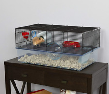 Hamster Cage Includes Free Water Bottle, Exercise Wheel, Food Dish & Hamster Hid