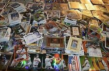 MLB 75 Card Hot Pack! Guaranteed 3 Autograph / Game Used Jersey Cards Baseball