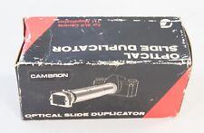 Cambron Optical Slide Duplicator