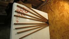 Antique Folding Wood Wall Clothes Dryer