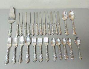 Gorham STRASBOURG Sterling Silver Luncheon / Place 58-Piece Flatware Set