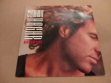 "SAMMY HAGAR * GIVE TO LIVE * 7"" ROCK SINGLE EXCELLENT 1987 P/S"