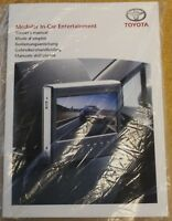 TOYOTA MODUL IN-CAR ENTERTAINMENT MANUAL GUIDE BOOK REF 9910