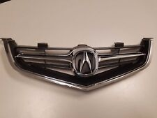 BRAND NEW ACURA TSX 2004 2005 GRILLE GRILL w/ CHROME MOLDING w/ OEM EMBLEM