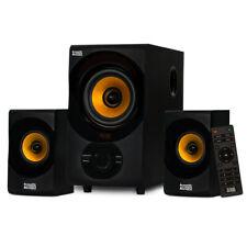 Acoustic Audio Home 2.1 Bluetooth 3 Speaker System for Multimedia Laptop Desktop