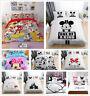 Disney Mickey Minnie Mouse Duvet Cover Bedding Set Pillowcase Comforter Cover 3D