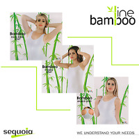 Luxury Bamboo Women's T-shirt Natural Clothes 3 Colors White Black Cappuccino ✅