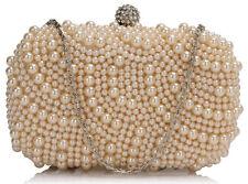 Ladies Women's Night Out Bag Prom Evening Clutch Wedding Bridal's Purse Handbag