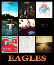 "EAGLES album cover discography magnet (3.5"" x 4.25"")  don henley glenn frey joe"