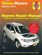 2003 2008 2009 2010 2011 2012 2013 2014 Nissan Murano Haynes Repair Manual 2681