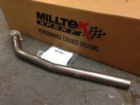 Milltek Exhausts Down Pipe Peugeot 205 GTi 1.6 & 1.9 - SPOOX MOTORSPORT